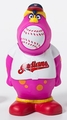 Cleveland Indians MLB Squeeze Popper Mascot
