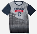 Cleveland Indians Outfield Photo Tee by Forever Collectibles