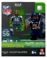 Cliff Avril (Seattle Seahawks) Super Bowl Champs NFL OYO Sportstoys Minifigures