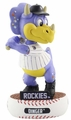 Colorado Rockies Mascot 2018 MLB Baller Series Bobblehead by Forever Collectibles