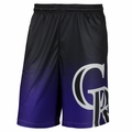 Colorado Rockies MLB 2016 Gradient Polyester Shorts By Forever Collectibles