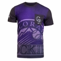 Colorado Rockies MLB Cotton/Poly Pocket Tee