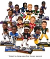 2016 NFL Legends Complete Series 1 Set (15) Bobble Heads by Forever Collectibles (15)