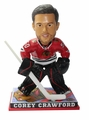 Corey Crawford (Chicago Blackhawks) NHL Goalie Bobblehead Forever Collectibles