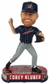 Corey Kluber (Cleveland Indians) 2017 MLB Headline Bobble Head - Alternate by Forever Collectibles
