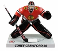 "Corey Crawford  (Chicago Blackhawks) 2016-17 NHL 6"" Figure Imports Dragon Wave 1"
