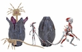 """Creature Accessory Pack (Alien: Covenant) for 7"""" Scale Action Figures by NECA"""