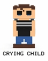 Crying Child (Five Nights at Freddy's) Series 2 8-Bit Buildable Figure