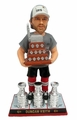 Duncan Keith (Chicago Blackhawks) Conn Smythe (MVP) Trophy/Real Fabric Champ T-Shirt 3X Champ Banner/Cup Base 2015 Stanley Cup Champions Exclusive BobbleHead #/500