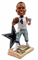 "Dak Prescott (Dallas Cowboys) How 'Bout Them Cowboys Newspaper Base NFL 10"" Bobble Head"