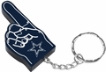Dallas Cowboys #1 Foam Finger Keychain