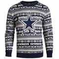 Dallas Cowboys Aztec NFL Ugly Crew Neck Sweater by Forever Collectibles