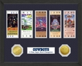 Dallas Cowboys 5-Time Super Bowl Champions Ticket Collection