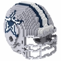 Dallas Cowboys NFL 3D Helmet BRXLZ Puzzle By Forever Collectibles