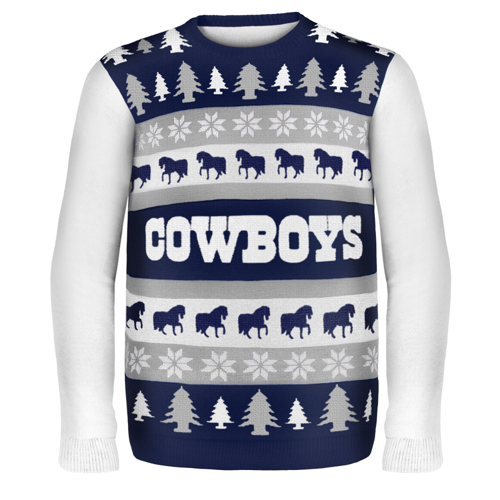 Dallas Cowboys NFL Ugly Sweater Wordmark
