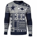 Dallas Cowboys Patches NFL Ugly Sweater by Klew