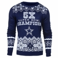 Dallas Cowboys NFL Super Bowl Commemorative Crew Neck Sweater