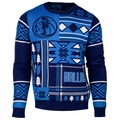 Dallas Mavericks NBA Patches Ugly Sweater by Klew