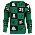 Dallas Stars 2016 Patches NHL Ugly Crew Neck Sweater by Forever Collectibles