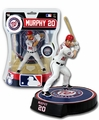 "Daniel Murphy (Washington Nationals) 2018 MLB 6"" Figure Imports Dragon THE PLAYERS CLUBHOUSE�"