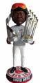 David Ortiz (Boston Red Sox) 2013 World Series Champ/MVP Trophy (T-Shirt, Helmet/Goggles) CLARKtoys.com Exclusive Trophy Bobble Head Forever #/300
