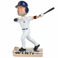 David Ross (Chicago Cubs) 2016 World Series Champions Newspaper Base Bobble Head by Forever Collectibles
