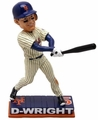 "David Wright (New York Mets) Forever Collectibles Nickname Collection MLB 10"" Bobblehead"