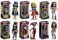 """DC Rock Candy 5"""" Vinyl Figures Complete Set (6) by Funko"""