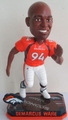 DeMarcus Ware (Denver Broncos) Forever Collectibles 2014 NFL Springy Logo Base Bobblehead