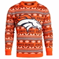 Denver Broncos Aztec NFL Ugly Crew Neck Sweater by Forever Collectibles