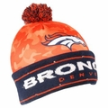 Denver Broncos NFL Camouflage Light Up Printed Beanies