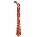 Denver Broncos NFL Ugly Tie Repeat Logo by Forever Collectibles
