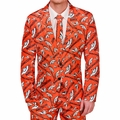 Denver Broncos NFL Repeat Logo Ugly Business Suit by Forever Collectibles