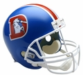 Denver Broncos (1975-96) Riddell NFL Throwback Mini Helmet