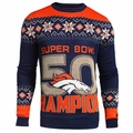 Denver Broncos Super Bowl 50 Champions Sweater