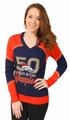 Denver Broncos Super Bowl 50 Champions Women's V-Neck Sweater