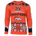 Denver Broncos NFL Super Bowl Commemorative Crew Neck Sweater