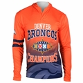 Denver Broncos Super Bowl XXXII Champions Poly Hoody Tee