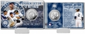 Derek Jeter (New York Yankees) #2 Jersey Retirement Silver Coin Card