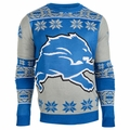 Detroit Lions Big Logo NFL Ugly Sweater