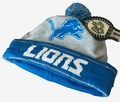 Detroit Lions NFL Camouflage Light Up Printed Beanies
