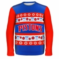 Detroit Pistons NBA Ugly Sweater Wordmark