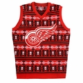 Detroit Red Wings NHL Aztec Ugly Sweater Vest