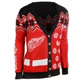 Detroit Red Wings NHL Women's Ugly Cardigan
