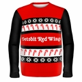 Detroit Red Wings NHL Ugly Sweater Wordmark