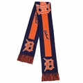 Detroit Tigers MLB Big Logo Scarf By Forever Collectibles