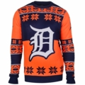 Detroit Tigers Big Logo MLB Ugly Sweater