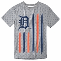Detroit Tigers Big Logo Flag Tee by Forever Collectibles