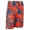 Detroit Tigers MLB Repeat Print Polyester Shorts By Forever Collectibles
