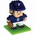 "Detroit Tigers MLB 3D 2"" Player BRXLZ Puzzle By Forever Collectibles"
